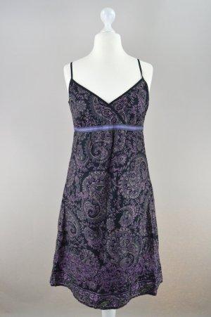 Esprit Kleid Muster und Pailletten mehrfarbig Größe 40