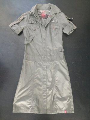 Esprit Kleid olivgrün Größe 34