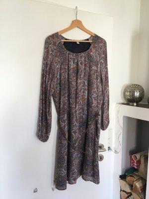 Esprit Kleid Parsley Muster, blau / braun Größe 40