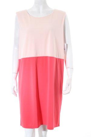 Esprit Kleid rosé-pink Colourblocking minimalistischer Stil