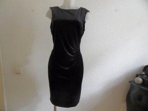 ESPRIT Kleid Schwarz/ Samt gr. 42 Edel  & Neuwertig