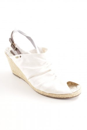 Esprit Comfort Sandals white beach look