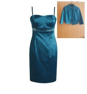 Esprit Kostüm Kleid, Coctail, Abendkleid, Blazer , Gr.34, XS