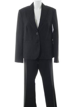 Esprit Kostüm schwarz-weiß Nadelstreifen Business-Look