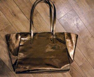Esprit Kunstleder Bronze metallic Tasche