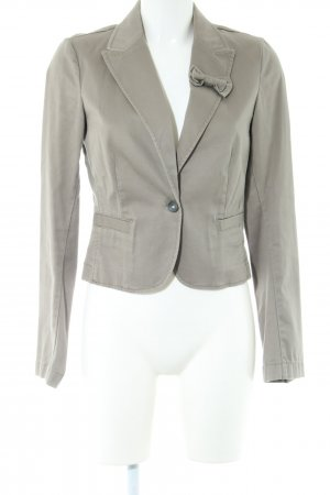 Esprit Kurz-Blazer hellgrau Business-Look
