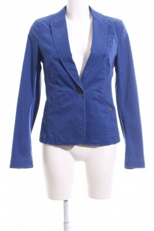 Esprit Kurz-Blazer blau Casual-Look