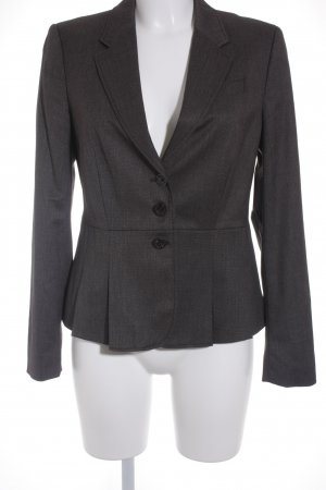 Esprit Kurz-Blazer anthrazit-schwarz Business-Look