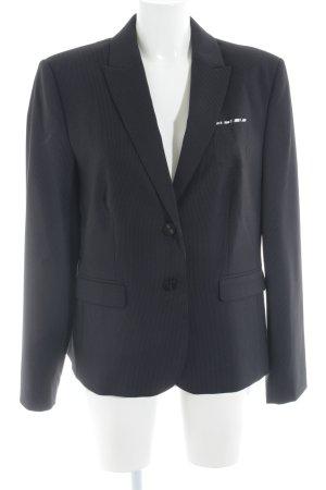 Esprit Kurz-Blazer dunkelblau-weiß Nadelstreifen Business-Look