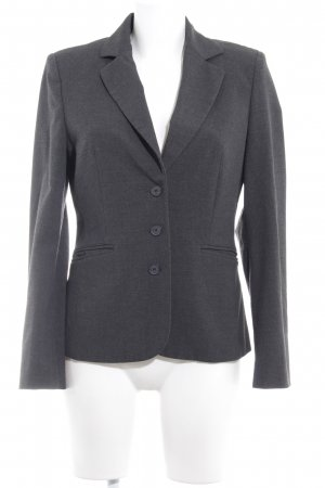 Esprit Kurz-Blazer dunkelgrau Business-Look