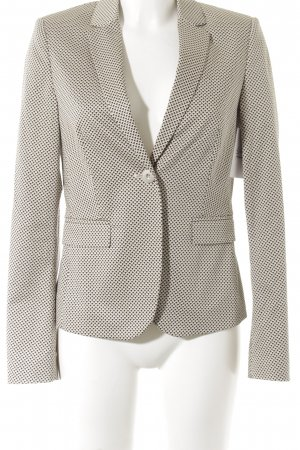 Esprit Kurz-Blazer grafisches Muster Business-Look