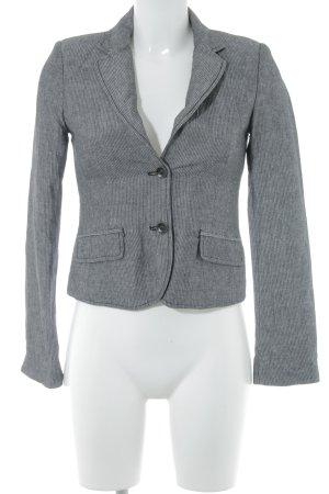 Esprit Kurz-Blazer grau-schwarz Business-Look