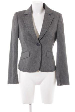 Esprit Kurz-Blazer grau-schwarz meliert Elegant