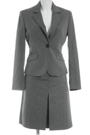 Esprit Kurz-Blazer grau-schwarz Nadelstreifen Business-Look