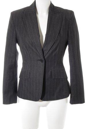 Esprit Kurz-Blazer graublau Nadelstreifen Business-Look