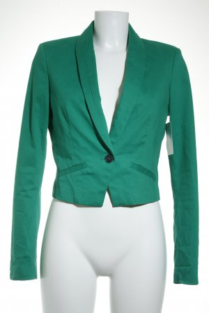 Esprit Kurz-Blazer grün Casual-Look