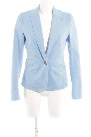 Esprit Kurz-Blazer neonblau Casual-Look