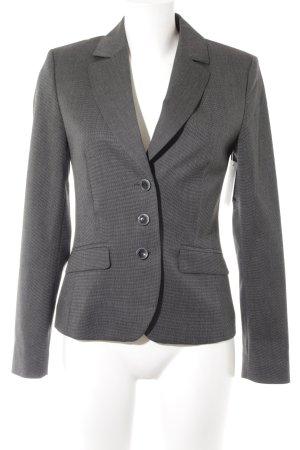Esprit Kurz-Blazer schwarz-grau meliert Business-Look