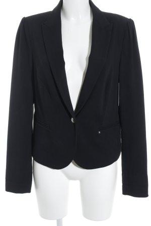 Esprit Kurz-Blazer schwarz-grau Sternenmuster Business-Look