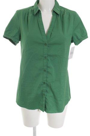 Esprit Kurzarm-Bluse grün Casual-Look