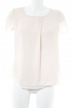 Esprit Kurzarm-Bluse rosé Business-Look