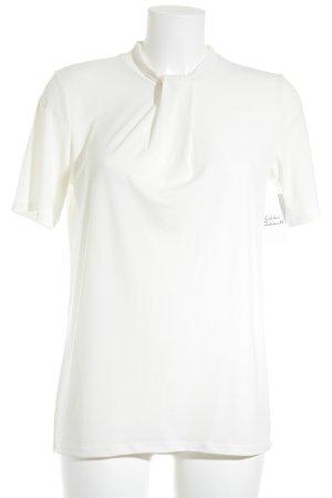 Esprit Kurzarm-Bluse weiß Elegant
