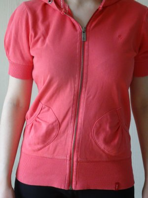 Edc Esprit Hooded Shirt pink