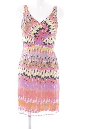 Esprit Kurzarmkleid abstraktes Muster Elegant