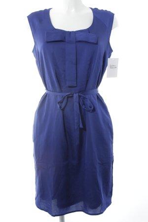 Esprit Kurzarmkleid blau klassischer Stil