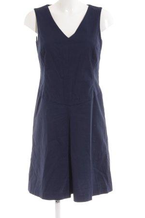 Esprit Kurzarmkleid dunkelblau Business-Look