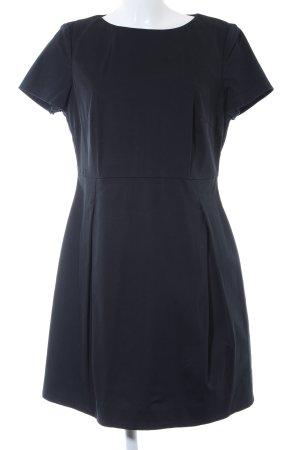 Esprit Kurzarmkleid dunkelblau klassischer Stil
