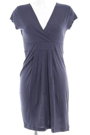 Esprit Jurk met korte mouwen donkerblauw simpele stijl