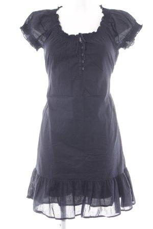 Esprit Kurzarmkleid dunkelblau Streifenmuster Elegant