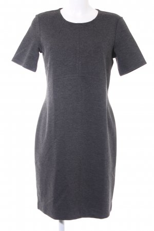 Esprit Shortsleeve Dress dark grey flecked business style