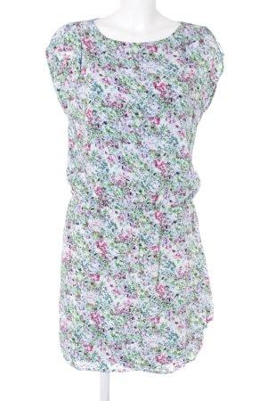 Esprit Kurzarmkleid florales Muster Casual-Look