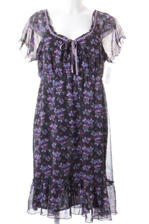 Esprit Kurzarmkleid florales Muster Gypsy-Look