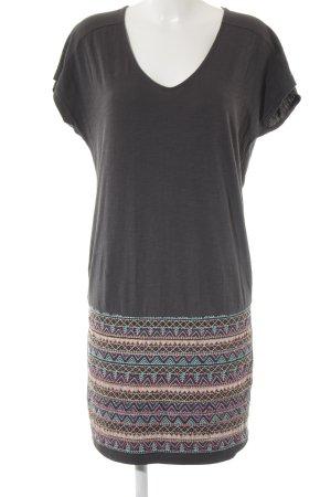 Esprit Kurzarmkleid mehrfarbig Street-Fashion-Look