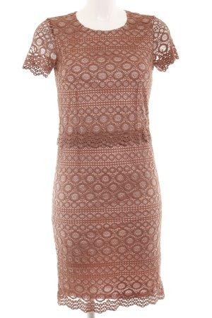 Esprit Kurzarmkleid roségoldfarben-bronzefarben Elegant