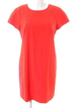Esprit Kurzarmkleid rot-pink Business-Look