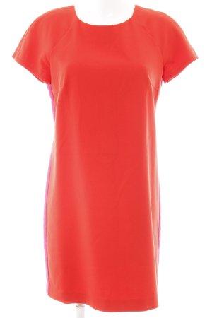 Esprit Kurzarmkleid rot-pink extravaganter Stil