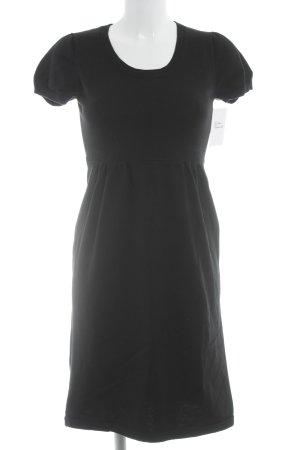 Esprit Robe à manches courtes noir style décontracté