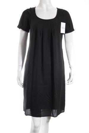 Esprit Jurk met korte mouwen zwart klassieke stijl