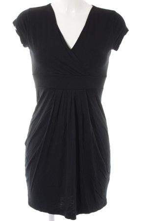Esprit Kurzarmkleid schwarz schlichter Stil