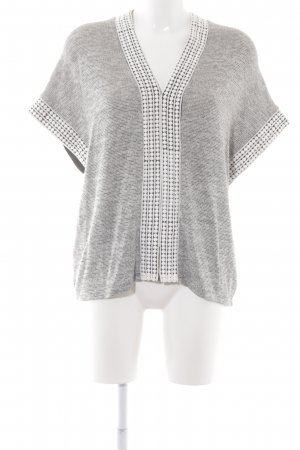 Esprit Short Sleeve Sweater black-white flecked casual look