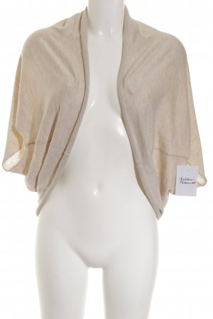 Esprit Short Sleeve Knitted Jacket cream casual look