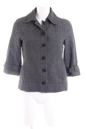 Esprit Kurzjacke schwarz-weiß meliert Casual-Look