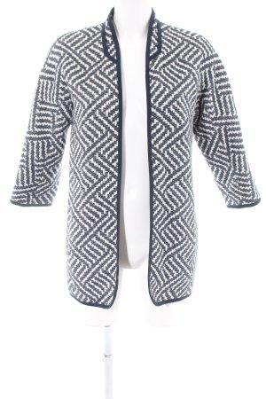Esprit Short Coat blue-white allover print casual look