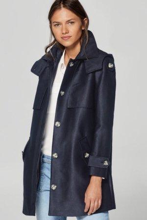 Esprit Abrigo corto azul oscuro