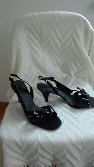 Esprit-Lack-Sandalette