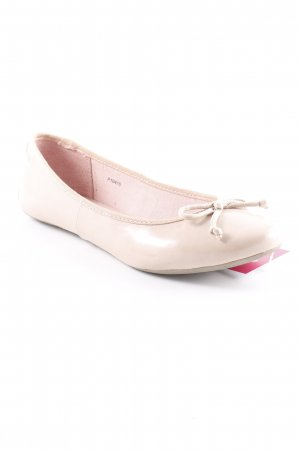Esprit Patent Leather Ballerinas dusky pink casual look